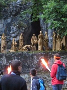 Chemin de croix des Espélugues