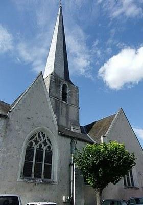 Eglise Saint Aignan à Cour Cheverny