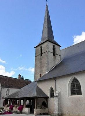 Eglise Saint-Etienne à Cheverny