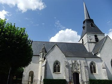 Eglise Saint-Mondry à Cellettes