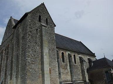 Eglise Saint-Clair à Mehers