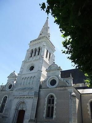 Eglise Saint-Cyr et Sainte-Juliette à Contres